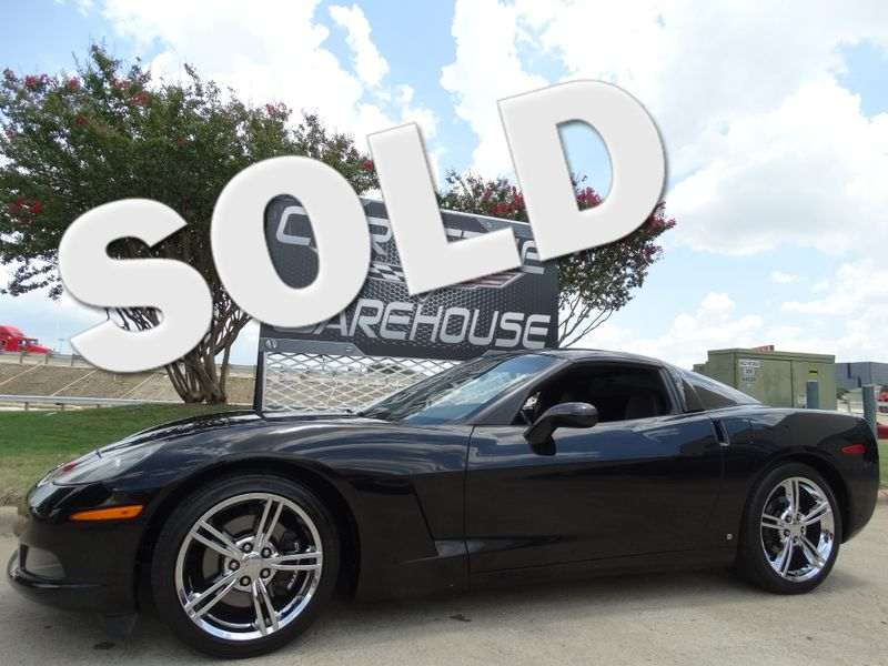 2008 Chevrolet Corvette Coupe 3LT, Corsa, Auto, Chrome Wheels 64k! | Dallas, Texas | Corvette Warehouse