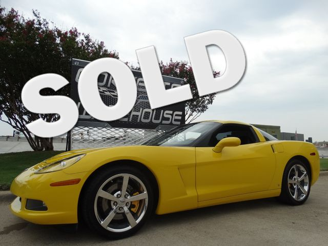 2008 Chevrolet Corvette Coupe Auto, CD Player, Chrome Wheels, Only 39k! | Dallas, Texas | Corvette Warehouse  in Dallas Texas