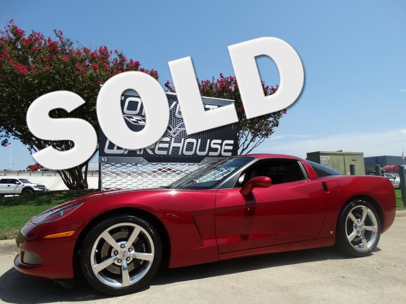 2008 Chevrolet Corvette Coupe 3LT, Z51, NAV, NPP, Chromes, One-Owner 34k! | Dallas, Texas | Corvette Warehouse