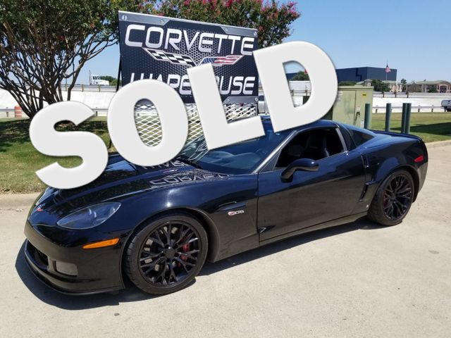 2008 Chevrolet Corvette Z06 Hardtop, 2LZ, NPP, C7 Black Alloys 54k | Dallas, Texas | Corvette Warehouse  in Dallas Texas
