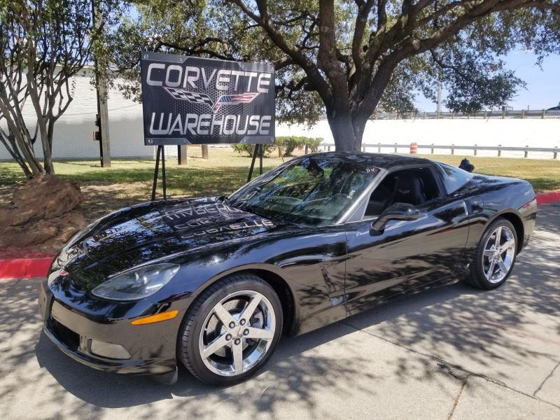 2008 Chevrolet Corvette Coupe 3LT, F55, TT Seats, Chrome Wheels, Only 23k! | Dallas, Texas | Corvette Warehouse