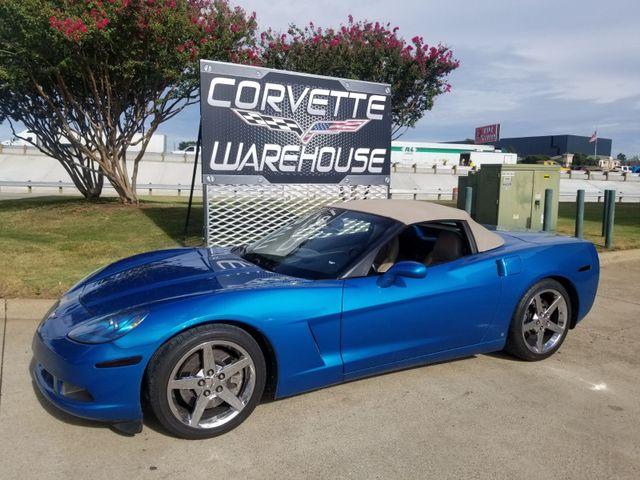 2008 Chevrolet Corvette Convertible 3LT, NAV, F55, NPP, Chromes, Only 59k! | Dallas, Texas | Corvette Warehouse  in Dallas Texas