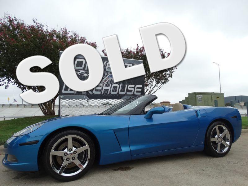 2008 Chevrolet Corvette Convertible 3LT, NAV, F55, NPP, Chromes, Only 59k! | Dallas, Texas | Corvette Warehouse