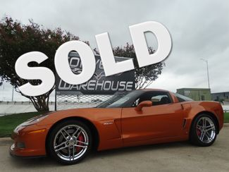 2008 Chevrolet Corvette Z06 Hardtop 2LZ, NAV, NPP, Chromes Only 18k Miles! | Dallas, Texas | Corvette Warehouse  in Dallas Texas