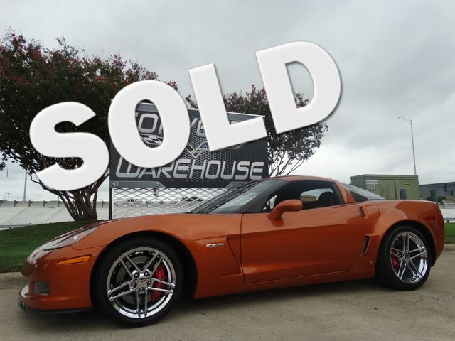 2008 Chevrolet Corvette Z06 Hardtop 2LZ, NAV, NPP, Chromes Only 18k Miles! | Dallas, Texas | Corvette Warehouse  in Dallas Texas