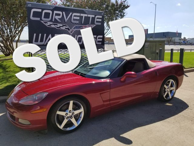 2008 Chevrolet Corvette Convertible 3LT, Z51, Pwr Top, NPP, Chromes 49k! | Dallas, Texas | Corvette Warehouse  in Dallas Texas