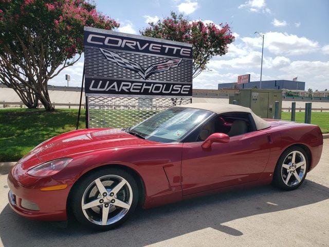 2008 Chevrolet Corvette Convertible 3LT, Z51, NPP, Power Top, Chromes 77k