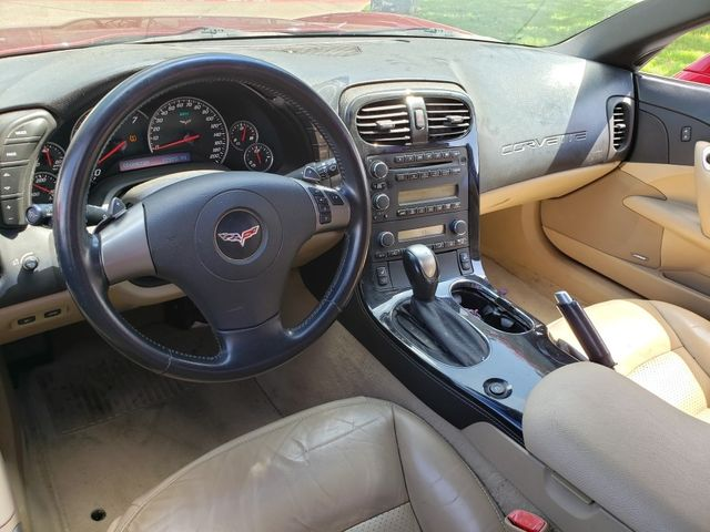 2008 Chevrolet Corvette Convertible 3LT, Z51, NPP, Power Top, Chromes 77k in Dallas, Texas 75220