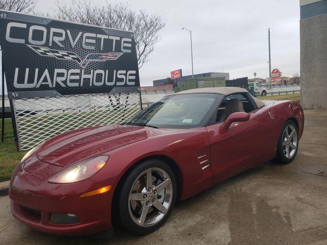 2008 Chevrolet Corvette Convertible 3LT, Z51, NAV, NPP, Auto, Chromes  42k | Dallas, Texas | Corvette Warehouse  in Dallas Texas