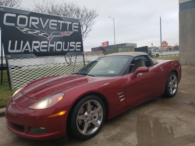 2008 Chevrolet Corvette Convertible 3LT, Z51, NAV, NPP, Auto, Chromes  42k   Dallas, Texas   Corvette Warehouse  in Dallas Texas