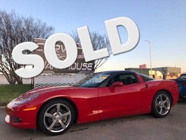 2008 Chevrolet Corvette Coupe 3LT, NAV, Glass Top, Chromes, One-Owner! | Dallas, Texas | Corvette Warehouse  in Dallas Texas