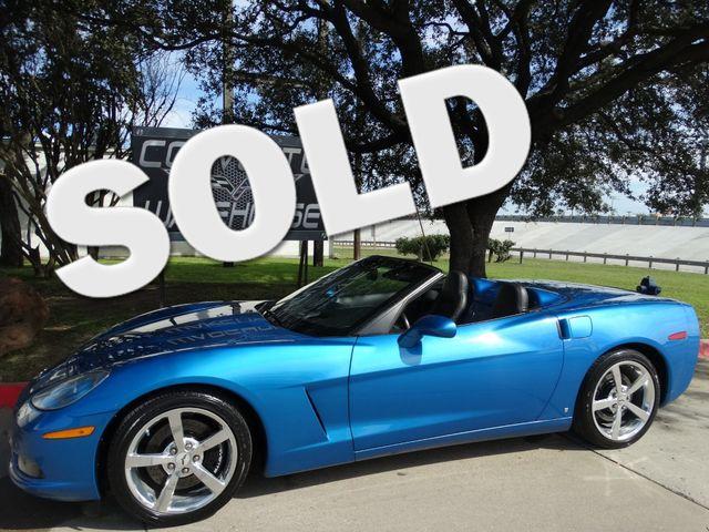 2008 Chevrolet Corvette Convertible 3LT, Z51, NAV, NPP, Auto, Chromes 70k! | Dallas, Texas | Corvette Warehouse  in Dallas Texas