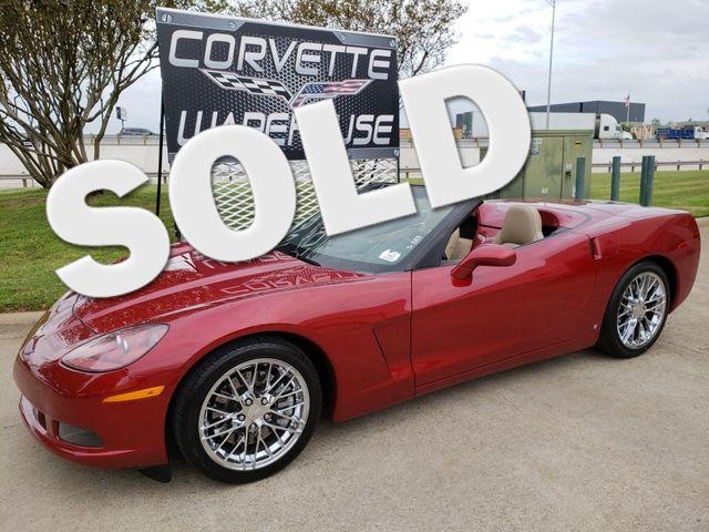 2008 Chevrolet Corvette Convertible 3LT, Z51, NAV, NPP, Auto, Chromes 52k! | Dallas, Texas | Corvette Warehouse  in Dallas Texas