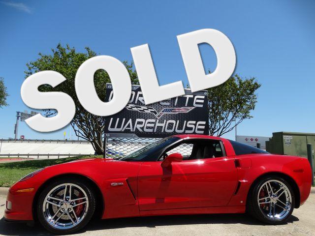 2008 Chevrolet Corvette Z06 2LZ, NAV, HUD, Chrome Wheels, Only 13k! | Dallas, Texas | Corvette Warehouse  in Dallas Texas