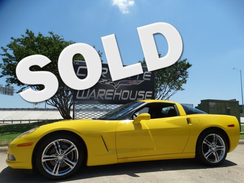 2008 Chevrolet Corvette Coupe 3LT, Auto, NPP, Chrome Wheels 55k! | Dallas, Texas | Corvette Warehouse