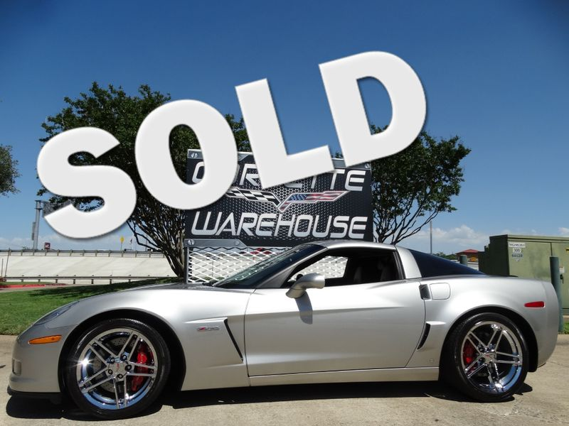 2008 Chevrolet Corvette Z06 Hardtop 2LZ, NAV, Chrome Wheels, Only 9k! | Dallas, Texas | Corvette Warehouse