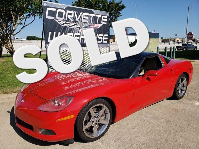 2008 Chevrolet Corvette Coupe 3LT, Z51, Auto, Glass Top, Chromes, Only 57k | Dallas, Texas | Corvette Warehouse  in Dallas Texas