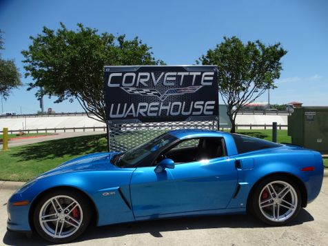 2008 Chevrolet Corvette Z06 Hardtop Jet Stream Blue, Only 54k! | Dallas, Texas | Corvette Warehouse  in Dallas, Texas