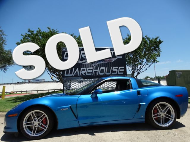 2008 Chevrolet Corvette Z06 Hardtop Jet Stream Blue, Only 54k! | Dallas, Texas | Corvette Warehouse  in Dallas Texas