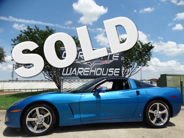 2008 Chevrolet Corvette Coupe 3LT, Z51, Auto, Glass Top, Chromes 28k! | Dallas, Texas | Corvette Warehouse  in Dallas Texas