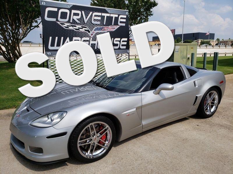 2008 Chevrolet Corvette Z06, 2LZ, NAV, TT Seats, Chromes, Only 63k! | Dallas, Texas | Corvette Warehouse