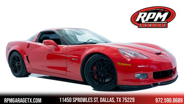 2008 Chevrolet Corvette Z06 with Many Upgrades