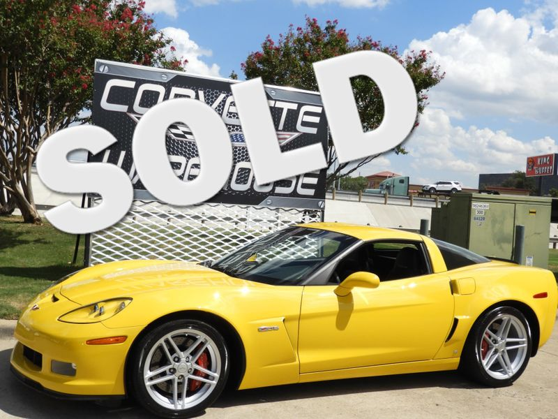 2008 Chevrolet Corvette Z06 Hardtop 2LZ, NPP, 1-Owner, 6k! | Dallas, Texas | Corvette Warehouse