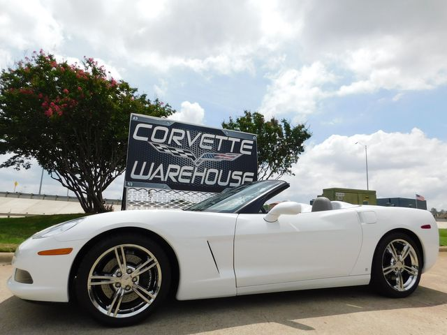 2008 Chevrolet Corvette Convertible 3LT, Z51, NPP, HUD, Auto, Chromes 25k in Dallas, Texas 75220