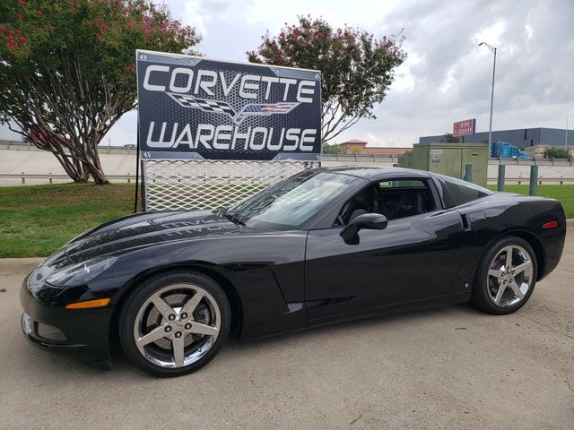 2008 Chevrolet Corvette Coupe 3LT, Z51, NAV, HUD, Auto, Chrome Wheels 8k in Dallas, Texas 75220