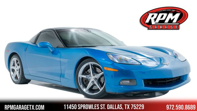 2008 Chevrolet Corvette with Many Upgrades