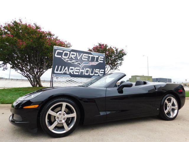 2008 Chevrolet Corvette Convertible 3LT, 6-Speed, CD, Polished Wheels 22k