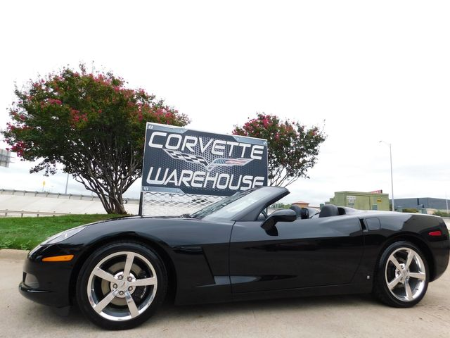 2008 Chevrolet Corvette Convertible 3LT, 6-Speed, CD, Polished Wheels 22k in Dallas, Texas 75220