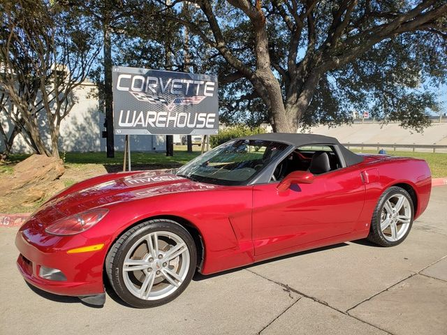 2008 Chevrolet Corvette Convertible 2LT, Auto, Chrome Wheels, Only 34k in Dallas, Texas 75220