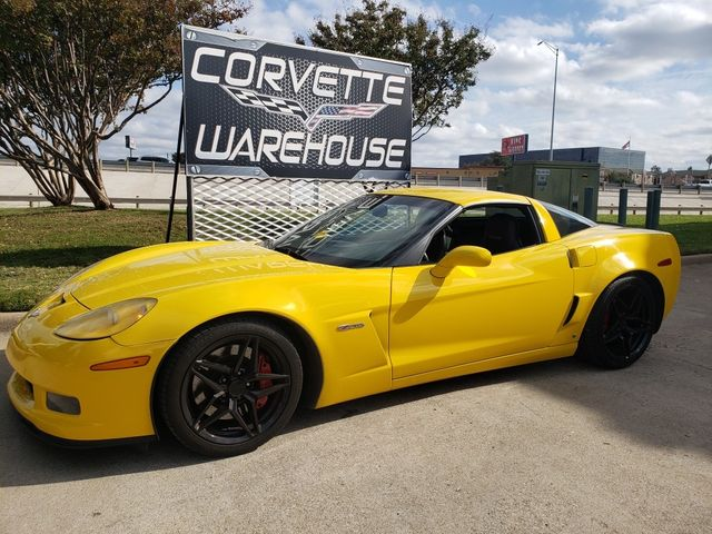 2008 Chevrolet Corvette Z06 Hardtop 2LZ, NAV, Black Wheels, Only 82k