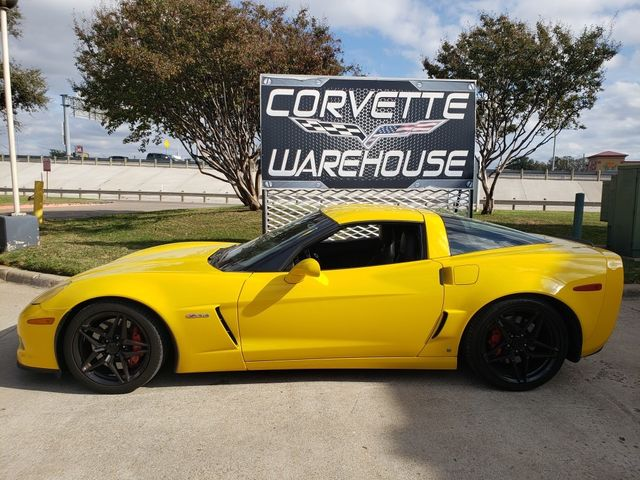 2008 Chevrolet Corvette Z06 Hardtop 2LZ, NAV, Black Wheels, Only 82k in Dallas, Texas 75220