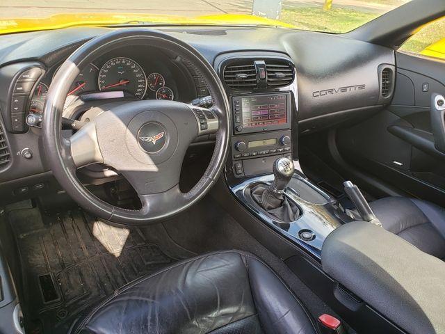 2008 Chevrolet Corvette Z06 Hardtop 2LZ, NAV, Black Wheels, Only 82k in Dallas, Texas 75220