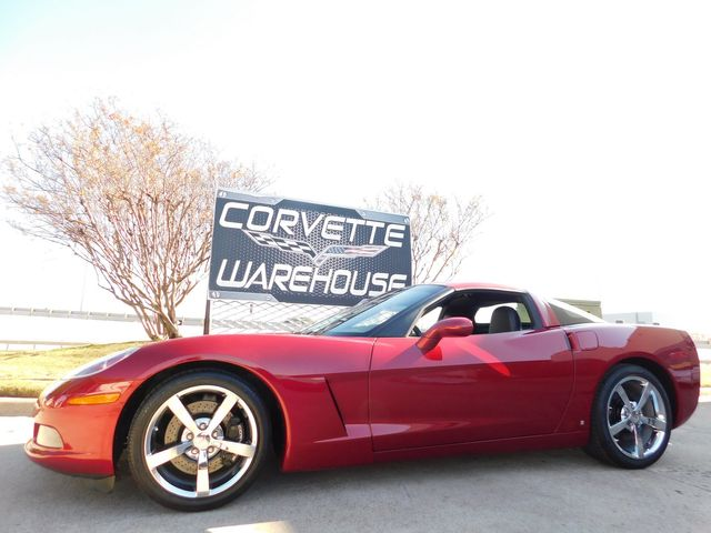 2008 Chevrolet Corvette Coupe 3LT, Z51, NPP, 6-Speed, Chrome Wheels 7k