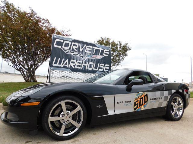 2008 Chevrolet Corvette Coupe 3LT, Z51, NPP, Indy Pace Car, Chromes 11k
