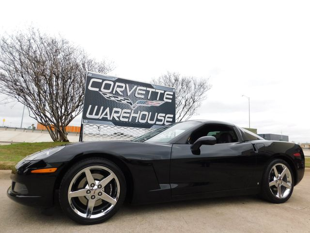 2008 Chevrolet Corvette Coupe 3LT, HUD, Auto, CD, Chrome Wheels, Only 44k in Dallas, Texas 75220