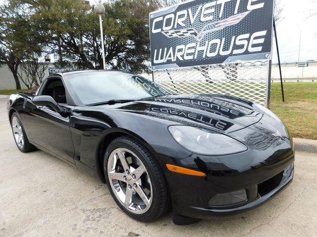 2008 Chevrolet Corvette Coupe 3LT, HUD, Auto, CD, Chrome Wheels, Only 44k in Dallas, Texas 75220