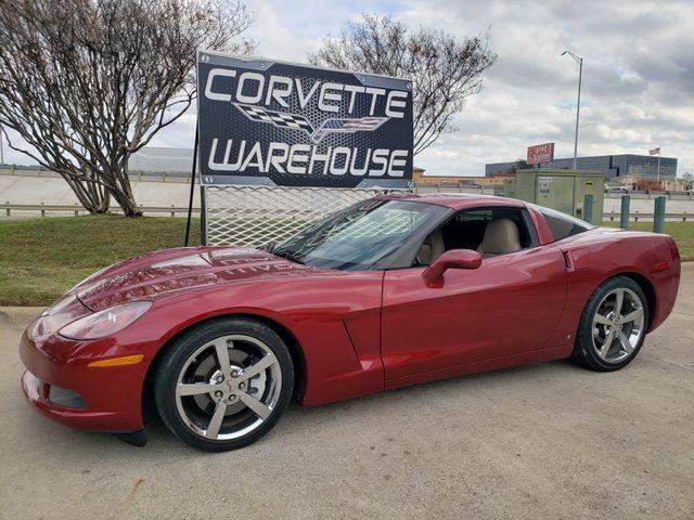 2008 Chevrolet Corvette Coupe 3LT, NAV, NPP, Auto, Chrome Wheels, 74k
