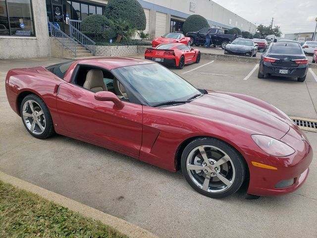 2008 Chevrolet Corvette Coupe 3LT, NAV, NPP, Auto, Chrome Wheels, 74k in Dallas, Texas 75220