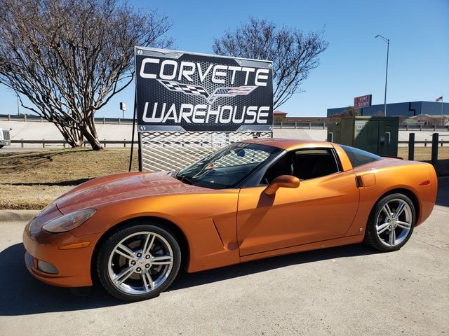 2008 Chevrolet Corvette Coupe Atomic Orange, Auto, Chrome Wheels 60k
