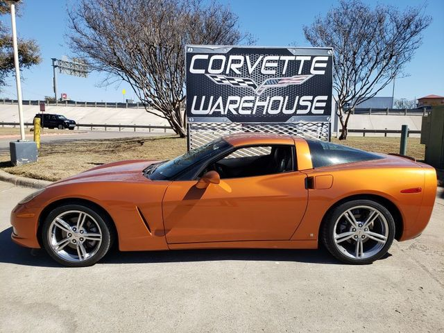 2008 Chevrolet Corvette Coupe Atomic Orange, Auto, Chrome Wheels 60k in Dallas, Texas 75220