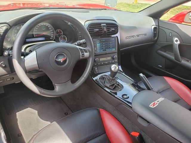 2008 Chevrolet Corvette Z06 Hardtop 2LZ, NAV, Chrome Wheels, Only 3k in Dallas, Texas 75220