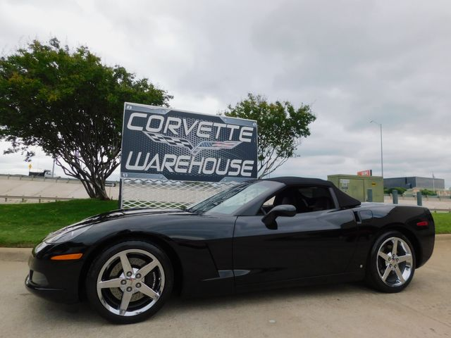 2008 Chevrolet Corvette Convertible 3LT, Z51, TT Seats, Chromes, Auto 6k in Dallas, Texas 75220