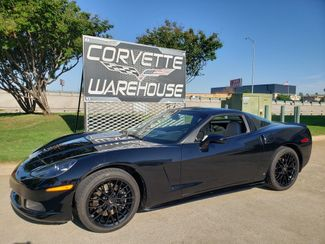 2008 Chevrolet Corvette Coupe 3LT, Skirts, CD, Black ZR1 Alloys 15k in Dallas, Texas 75220