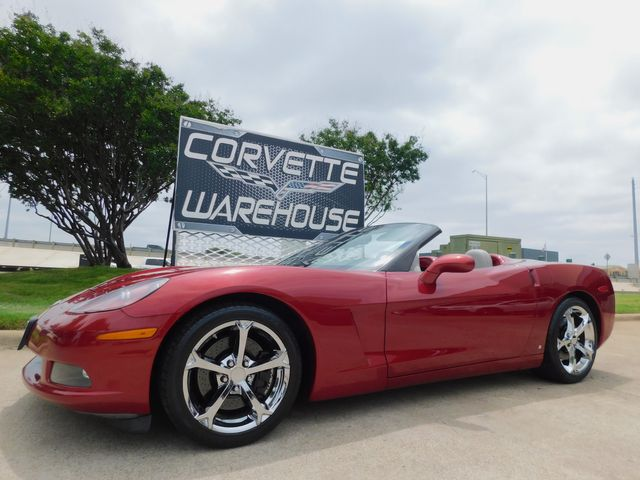 2008 Chevrolet Corvette Convertible 3LT, Z51, NAV, NPP, GS Chromes 49k