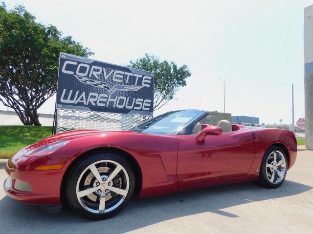 2008 Chevrolet Corvette CONV Z51, 3LT, NAV, NPP, Power Top, Chromes 22k