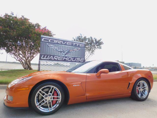 2008 Chevrolet Corvette Z06 3LZ, NAV, B&B, Mods, Chromes, 8k